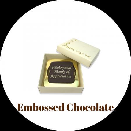 EMBOSSED CHOCOLATE